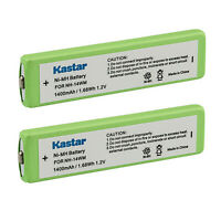 Kastar 2-Pack Battery for Sony Portable CD MP3 NC-5WM NC-6WM NH-14WM NH-14WM(A)