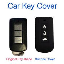 CAR KEY COVER CASE Fits MITSUBISHI ASX LANCER EX SPORT OUTLANDER SMART KEY BLACK