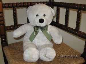 Harrods UK Soft Toys 16 Inch Cream Mogule Bear SE