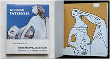 Alessio Paternesi 1971 Autografato con 4 litografie firmate Agnesotti Selvaggi