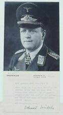 Erhard Milch German World War II Field Marshal Pioneer Of Luftwaffe Autograph