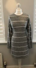 Ladies Womens Grey Jumper Dress Topshop Size 10 Immaculate condition