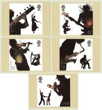 GB CARTOLINE PHQ carte Nuovo di zecca SET COMPLETO 2006 suoni della Gran Bretagna Pack 291