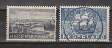 NVPH Netherlands Nederland 267 - 268 used 1934 Curacao Pays Bas
