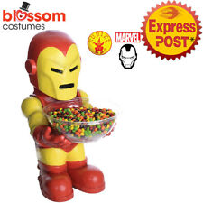 AC384 Iron Man Marvel Hero Superhero Candy Bowl Holder Decoration Christmas Gift