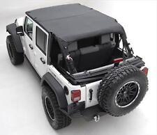 Smittybilt Black Diamond Extended  Top  Jeep Wrangler JK 4 Door with  header