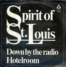 7inch SPIRIT OF ST LOUIS down by the radio HOLLAND EX delta rec