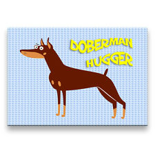 DOBERMAN PINSCHER Hugger FRIDGE MAGNET No 2