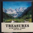 Treasures of the World Europe (Garnet) 1 oz. 0.999 Silver Coin FREE SHIP