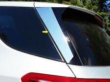 2 Piece Chrome Stainless Steel Rear Window Trims FOR 2018 2019 Chevy Equinox