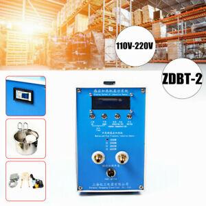 Updated ZDBT-2 Induction Heater Melting Furnace Welding W/ Crucible 110V-220V US