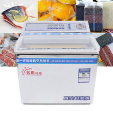 Commercial Food Saver 8mm Vacuum Sealer System Sealing Machine Packing 200w