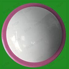 1x Rosa Push activado Vivero de luz de noche LED Montaje en Pared 4xAA Baterías Inc