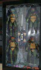 NECA SDCC 2018 Teenage Mutant Ninja Turtles Figure 4-Pack (Complete)