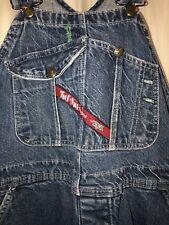 Vintage Tuf Nut Overalls 60's - 70's Denim Workwear Chore Indigo Red Label