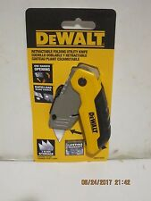 DeWalt DWHT10035 Folding Retractable Utility Knife W/3 Blades-FREE SHIP NISP!!!!