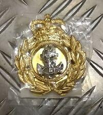 Genuine British Royal Navy CPO Chief Petty Officer Cap / Beret  Badge - NEW