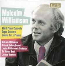 Malcolm Williamson - : Third Piano Concerto; Organ Concerto; Sonata for 2 Pianos (2007)