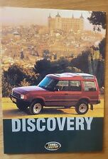 No. 35 Land Rover Discovery 1990 Postcard Vintage Ad Gallery FREE Postage in UK
