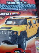 ROSE-ART 3D MAGNA-MODEL HUMMER H2 1:18 SCALE 20+ PCS! (THINK ROSE ART!)
