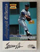 1999 Tommy John Signed Sports Illustrated Greats of the Game On-Card CERT AUTO