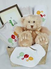 NEWBORN BABY Gift Basket - Deluxe Baby Hamper,  Baby Shower Gift