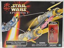 Star Wars Ep I Anakin Skywalker's Pod Racer Vehicle + Action Figure NIP Hasbro
