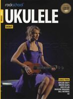 Rockschool Ukulele Debut TAB Music Book & Audio From 2017 Taylor Swift U2