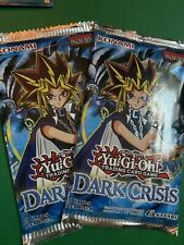 Yugioh Dark Crisis (2) Booster Packs Unlimited New