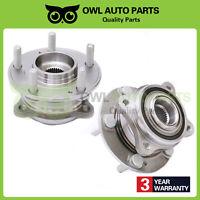 2 Rear Wheel Bearing & Hub for 2007 - 2011 Hyundai Santa Fe Veracruz AWD 513256