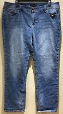 Lucky Brand Women's Size 22W  Regular Jeans Georgia Straight Medium Wash