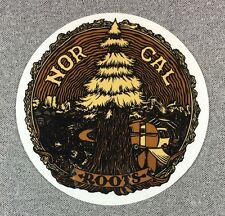 NOR CAL Rooted Sticker NORCAL Bear 4.5in si