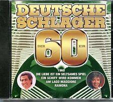 Deutsche Schlager der 60er-1960 Gus Backus, Peter Kraus, Ted Herold, Siw .. [CD]