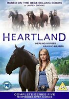 Heartland Complete Series 5 DVD All Episode 5th Fifth Season UK Release NEW R2