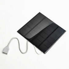Hot Sale Solar Panel USB 2.0 Solar Battery Charger Black For phone MP3 Tablet PC