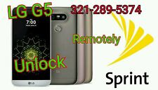 ☆REAL☆SPRINT SIM UNLOCK LG G5 LS992 FACTORY UNLOCK SERVICE 7.0☆DONE REMOTELY☆