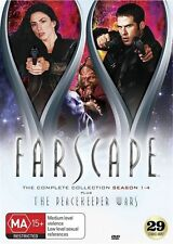 Farscape the Complete Series Collection (Inc. Peacekeeper Wars) NEW R4 DVD