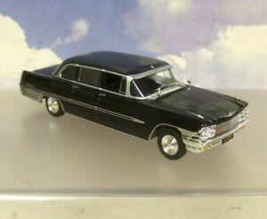 Russe Voiture Collection D / Fonte 1/43 Zil 111G Limousine Noir 1962-67 Trousse