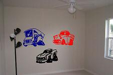 Cars Hot Rod Wall Stickers Wall Art Rat Rods Vinyl Decal Sticker Boys Room Truck