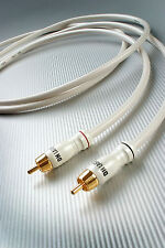 DH-Labs Silver Sonic White Lightning RCA Interconnect cable, 1m