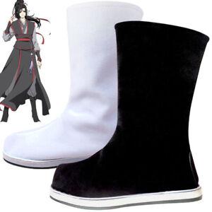 Wei Wuxian Lan Wangji Cosplay Boots Anime Mo Dao Zu Shi Ancient Costumes Shoes