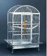 Large High Quality 304 Stainless Steel Bird Parrot Macaw Cage Dometop Macaws
