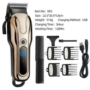 Wireless salon hair clipper professional hair trimmer men hair Cutting machine
