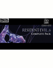 Resident Evil 6 Complete Pack Steam Key Pc Download Code Global [Blitzversand]