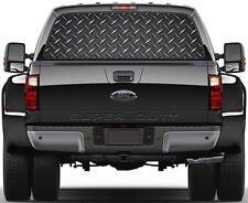 Riveted Black Metal Rear Window Decal Sticker Car Truck SUV Van Rivet 287