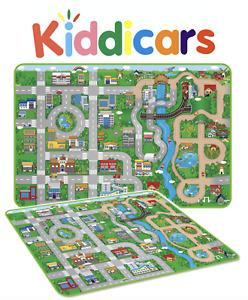 Giant Kids City Road Play Mat Childrens Car Road Carpet Rug EVA Foam Toy Playmat