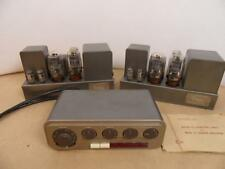 Pair  QUAD II AMPLIFIERS WITH MATCHED SET OF  kt66 and quad 22 preamp
