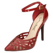 Decolté e sabot da donna rossi formali tacco altissimo ( oltre 11 cm )