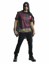 "Robin Costume Top, Mens Arkham City, Med,CHEST 38-40"",WAIST 30-34"",INSEAM 33"""