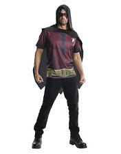 "Robin Costume Top, Mens Arkham City, Med,CHEST 38-40"",WAIST 30-34"",INSEAM 33"""